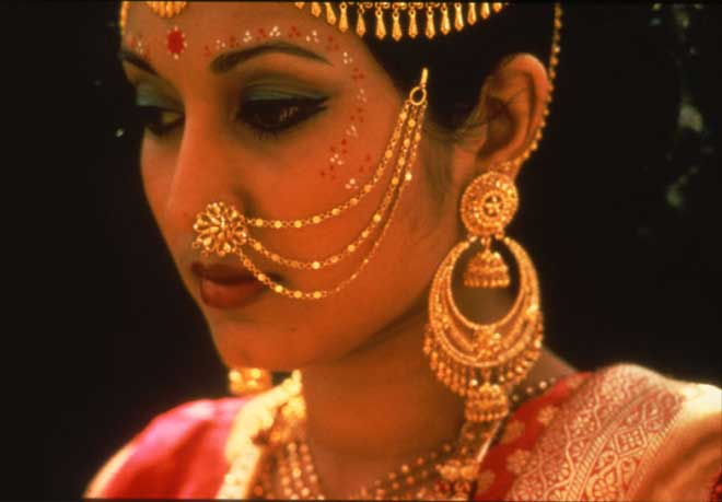 Indians Black Skin Highlights Gold Jewellery Chinese