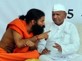 Anna Hazare to boycott Baba Ramdev's stir starting at Ramlila Maidan tomorrow, say sources
