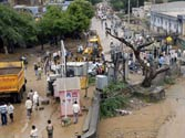Heavy rain kills 10 persons in Jaipur, PM calls Gehlot
