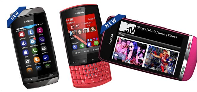 Nokia Asha 305, Asha 311 launched in India