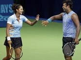 Sania, Paes move into mixed doubles quarter finals at Olympics