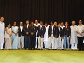 IOA felicitates Olympic medallists as they meet PM, Sonia
