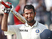 Pujara's maiden ton puts India in driver's seat against the Kiwis