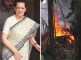 Sonia Gandhi visits riot-affected Assam, says return of refugees will take some time