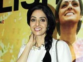 Not insecure at all, says Sridevi