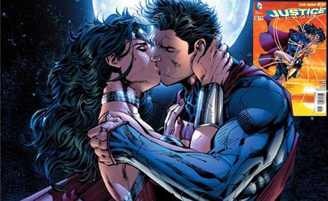superman and wonder woman couple