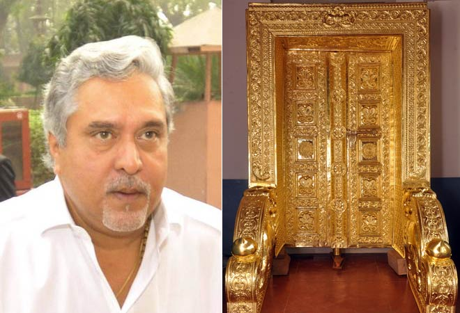 Vijay Mallya (left) and gold-plated door  sc 1 st  India Today & Cash-strapped Mallya offers gold-plated doors worth Rs 80 lakh to ...