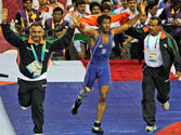 London Olympics: Yogeshwar Dutt to take on Anatolie ilarionovitch Guidea in 60kg freestyle wrestling