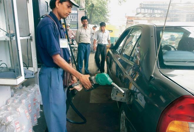 Hike in petrol, diesel price
