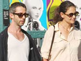 Is Katie Holmes dating Jeremy Strong?