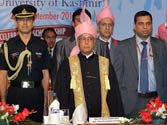 No problems are ever solved by violence: President Pranab Mukherjee in Kashmir