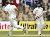 Clean bowled! Is age catching up with Sachin?