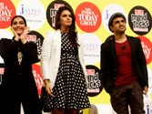 Sonam, Huma Qureshi and Vir Das at Mind Rocks
