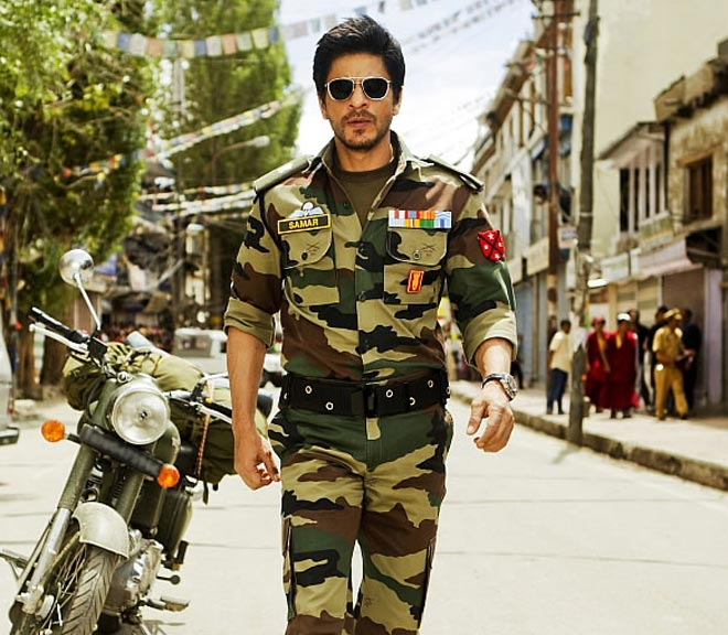 Image result for jab tak hai jaan SRK as soldier