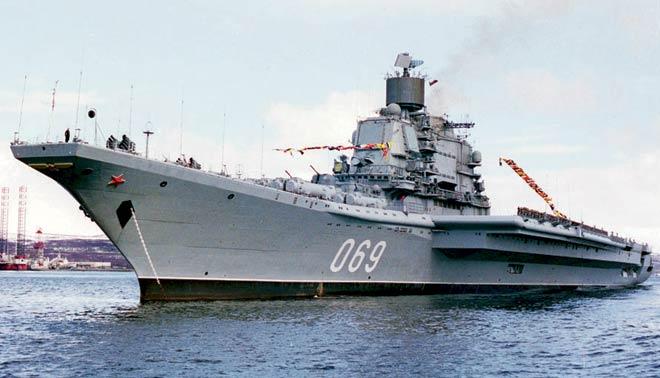 Aircraft carrier Gorshkov