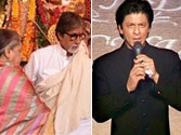 B-town's holy gig: SRK and Big B lead galaxy of stars who went pandal hopping