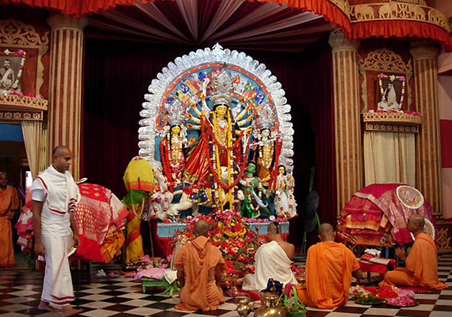 Belurmath's unique Durga Puja live on Internet