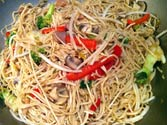 How to make chowmein at home?