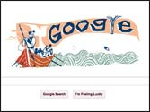 Google doodle celebrates Herman Melville's Moby-Dick