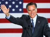 Mitt Romney now leads President Barack Obama by four per cent