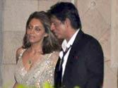 Shah Rukh Khan, Gauri at Saif-Kareena wedding