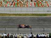 Changes to the track add to racing challenges at the Indian GP
