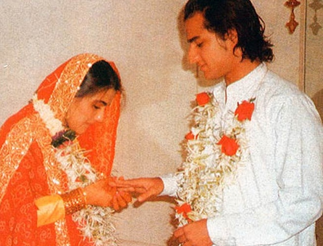 Amrita Singh And Saif Ali Khan S 1991 Wedding