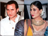 Saif Ali Khan, Kareena Kapoor to get married today