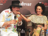 Guitar god in India! Carlos Santana is in Capital to performs at Formula One Rocks concert