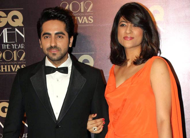 Ayushmann Khurrana with his wife Tahira
