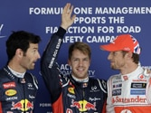 Formula One: Sebastian Vettel claims the Japanese Grand Prix