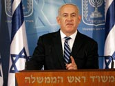 Backing tough talk, Israeli premier wages first war