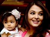 Aaradhya hogs limelight at mom Aishwarya
