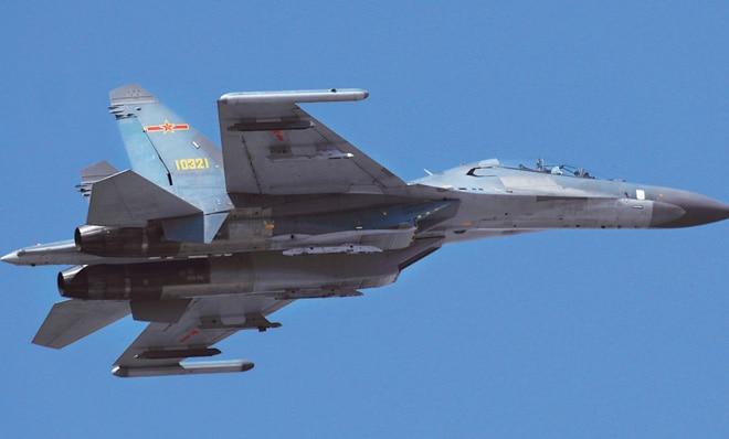 Chinese Sukhoi-27 jet