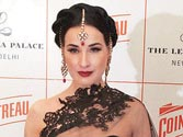 Dita Von Teese likes saree over her 'uniform'