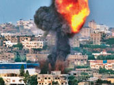 Israel expands air assault in Gaza Strip