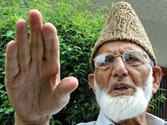 Syed Ali Shah Geelani rejects Shinde's dialogue offer to separatists