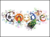 Google doodle celebrates Children