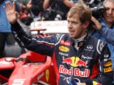 Vettel creates history, becomes youngest triple F1 champion