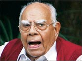 BJP losing moral ground in its fight against corruption, warns Ram Jethmalani