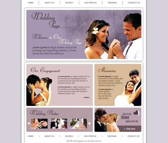 Creating Wedding Websites A Trend Now