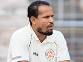 Baroda push for win after twin tons and Yusuf Pathan's smashing knock
