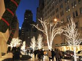 Christmas celebrations in New York City
