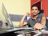 Finding Formula: Deepak Ravindran, who gave an alternative to Google for search