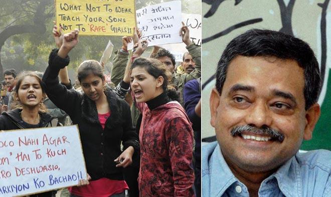 Protesters protest against Delhi gangrape