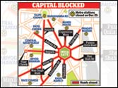 Gangrape protests: Delhi Metro stations remain closed for third day in a row