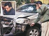 Drunk pub manager runs over five policemen in Delhi