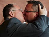 Gay marriage taking effect in Maryland, Maine