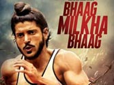 Farhan Akhtar blends almost seamlessly into his character of the Flying Sikh