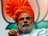 Narendra Modi sworn in as Gujarat chief minister for the fourth term